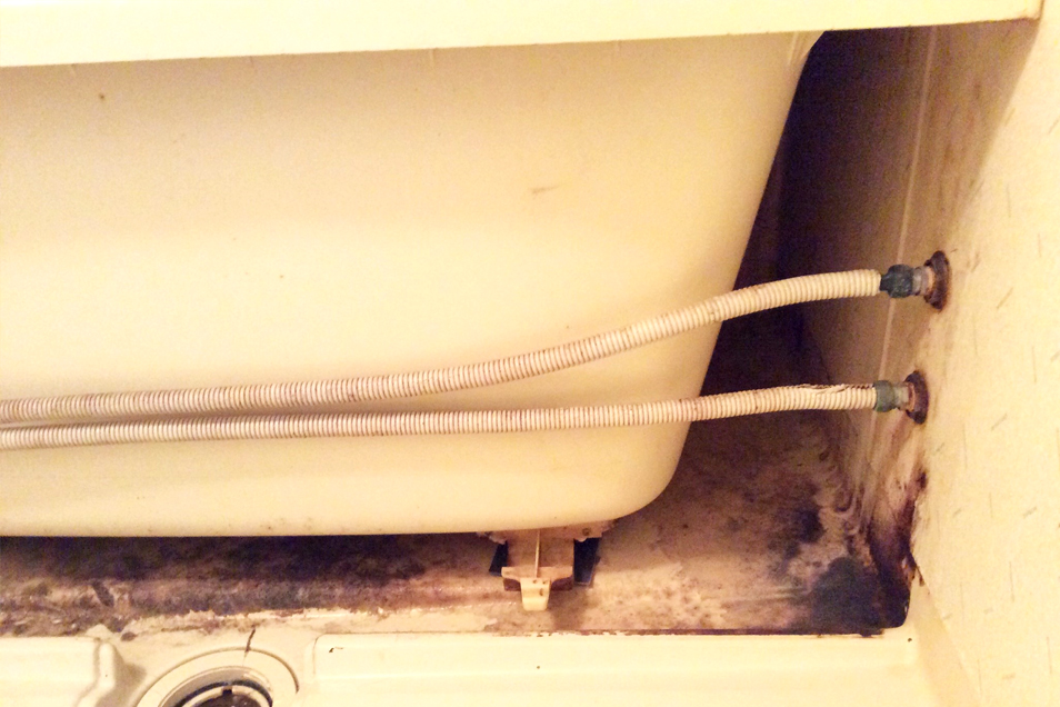 浴槽汚れ01before