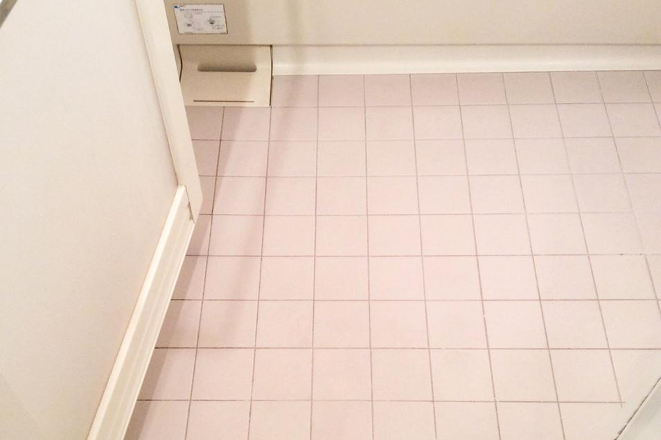 浴室床汚れafter