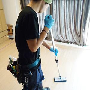 床・お部屋エアコンクリーニング