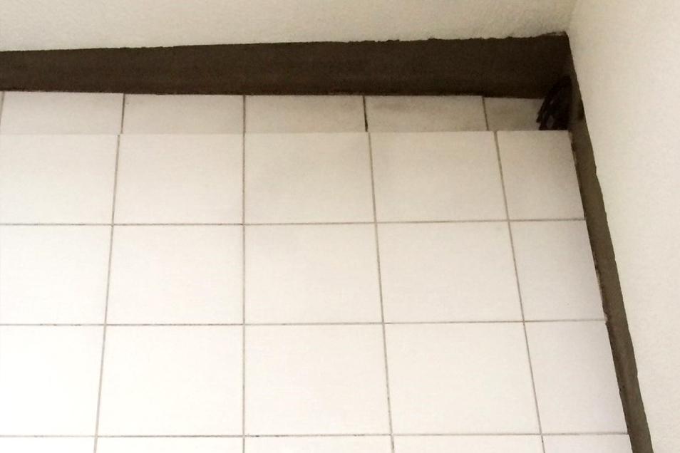 タイル床の頑固な汚れafter